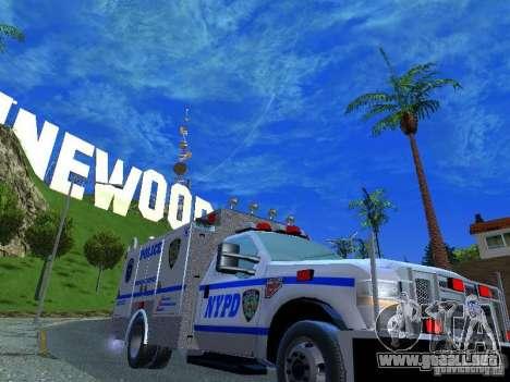 Ford F350 REP Truck para la visión correcta GTA San Andreas