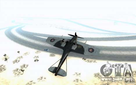 Spitfire para visión interna GTA San Andreas