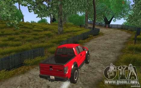 Ford F150 SVT RapTor para visión interna GTA San Andreas