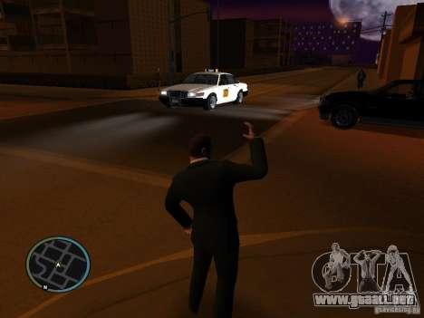 Taxi mod para GTA San Andreas segunda pantalla