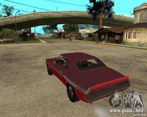 1969 Yenko Chevrolet Camaro para GTA San Andreas left