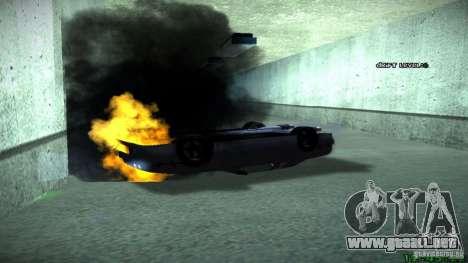 Nuevos efectos 1.0 para GTA San Andreas segunda pantalla