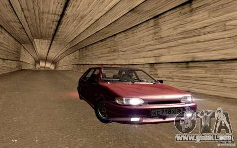 ВАЗ 2114 calidad para vista inferior GTA San Andreas