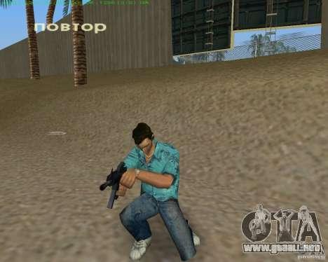 M4 de Counter Strike Source para GTA Vice City sucesivamente de pantalla