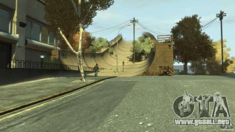 New Map Mod para GTA 4 adelante de pantalla