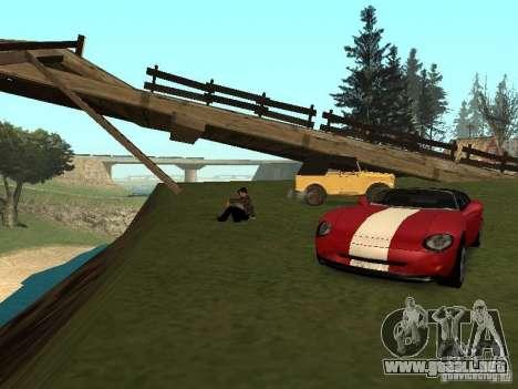 Un paseo para recordar para GTA San Andreas segunda pantalla