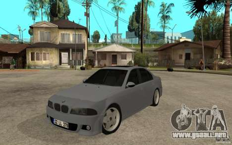 BMW 523i CebeL Tuning para GTA San Andreas