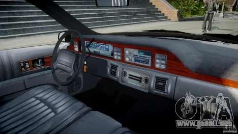 Chevrolet Caprice FBI v.1.0 [ELS] para GTA 4 visión correcta