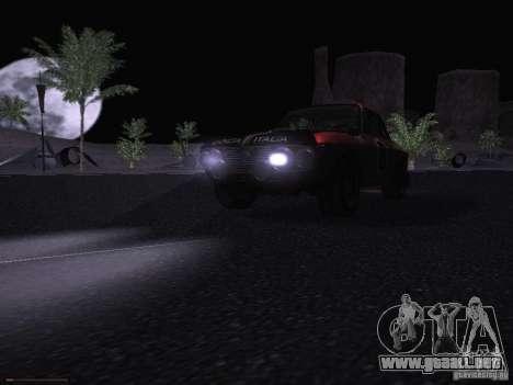 Lancia Fulvia Rally para la vista superior GTA San Andreas