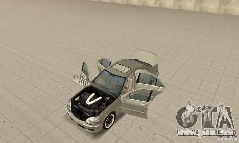 Mercedes-Benz S65 AMG 2004 para GTA San Andreas vista hacia atrás