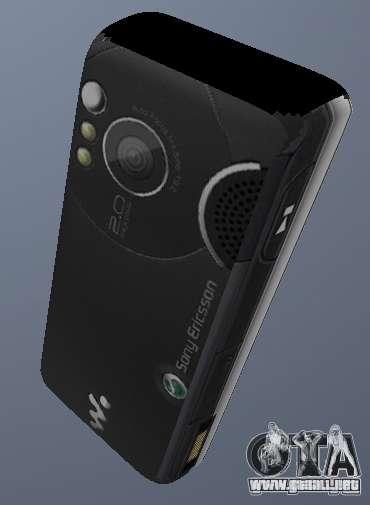 Sony Ericsson W610i para GTA San Andreas segunda pantalla
