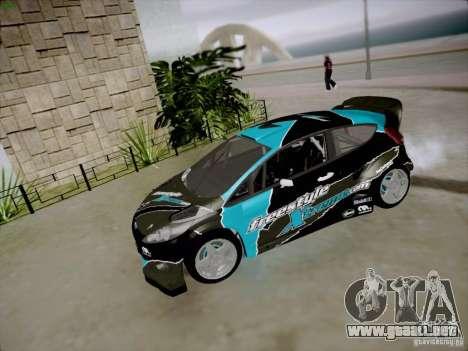 Ford Fiesta RS para visión interna GTA San Andreas