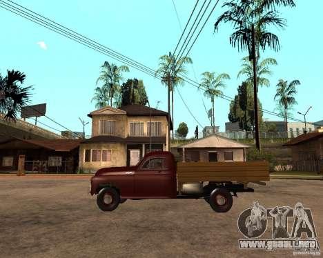 Gaz M-20 Pobeda PickUp para GTA San Andreas left
