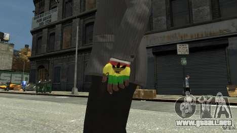 Adidas Rasta Gloves para GTA 4 segundos de pantalla