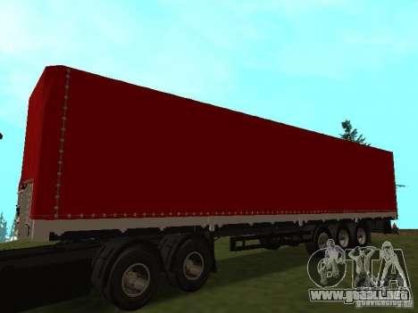 NEFAZ 93344 rojo para GTA San Andreas