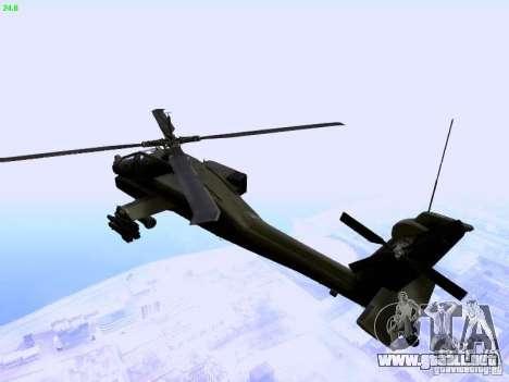 HD Hunter para GTA San Andreas left
