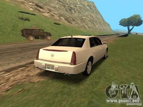 Cadillac DTS 2010 para GTA San Andreas left