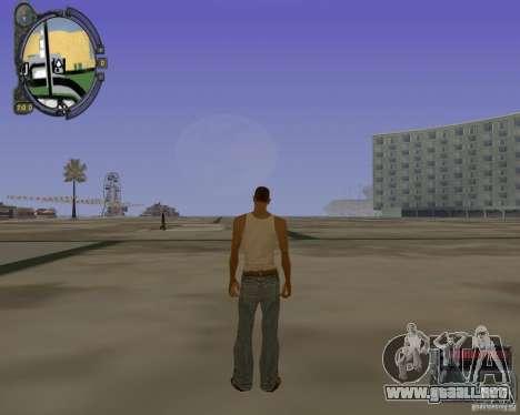 iCEnhancer beta para GTA San Andreas segunda pantalla