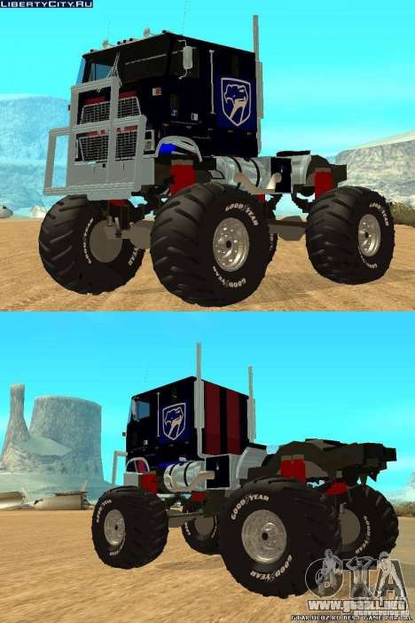 Ford CLT Monster Truck para GTA San Andreas