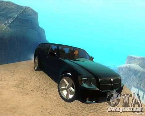 Dodge Magnum RT 2008 v.2.0 para la visión correcta GTA San Andreas