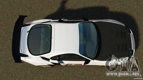Toyota Supra Top Secret para GTA 4 visión correcta