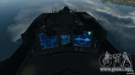 ADF-01 Falken para GTA 4 visión correcta