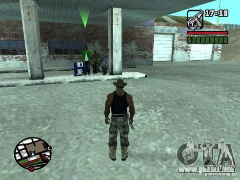 Gun Seller RUS para GTA San Andreas quinta pantalla