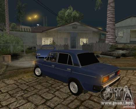 Vaz 21063 para GTA San Andreas vista hacia atrás