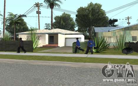 Crips 4 Life para GTA San Andreas quinta pantalla