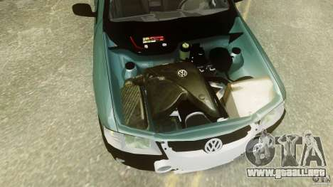 Volkswagen Gol G4 Rallye para GTA 4 vista hacia atrás