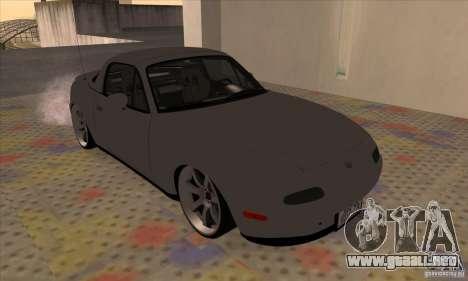 Mazda MX-5 para GTA San Andreas left