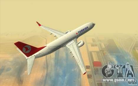 Boeing 737-800 THY para GTA San Andreas