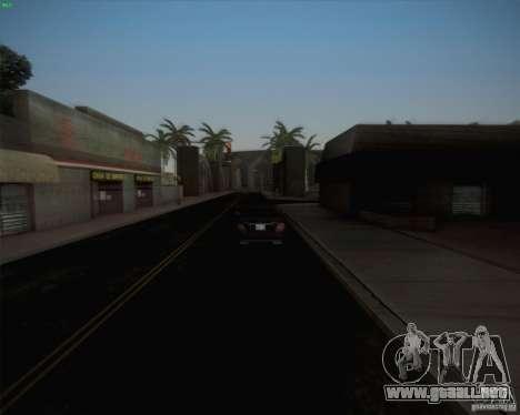Nuevos caminos alrededor de San Andreas para GTA San Andreas segunda pantalla