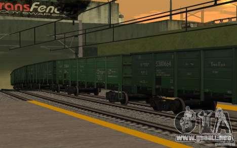 FERROCARRIL mod II para GTA San Andreas décimo de pantalla