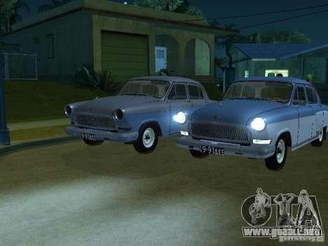 Volga GAZ 21 para la visión correcta GTA San Andreas