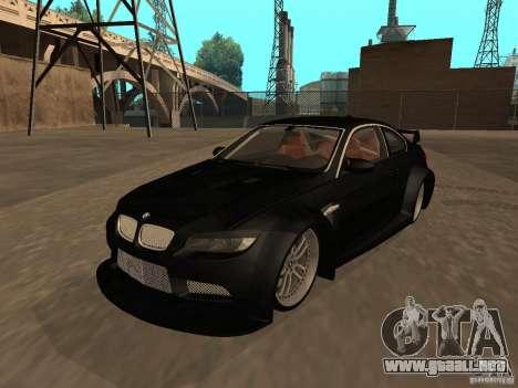 BMW M3 E92 Tunable para visión interna GTA San Andreas