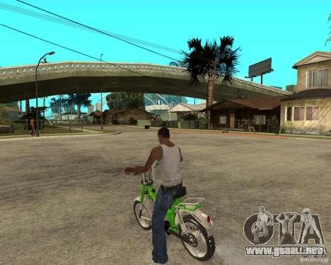 Mustang Mamba para GTA San Andreas left