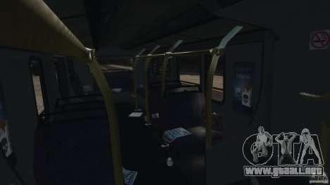 London City Bus para GTA 4 vista lateral