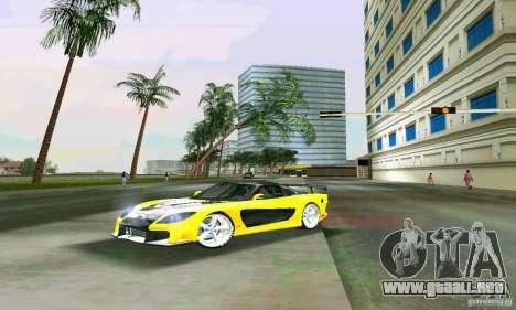 Mazda RX7 VeilSide para GTA Vice City vista lateral izquierdo