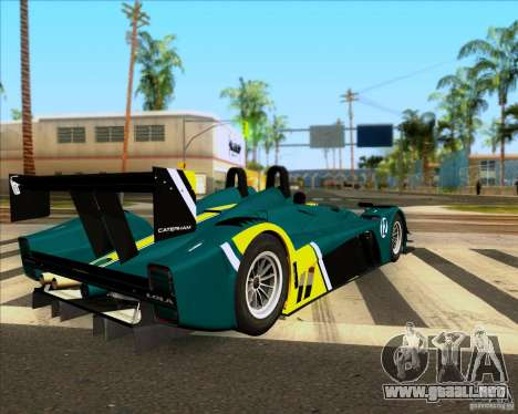 Caterham Lola SP300R para GTA San Andreas left
