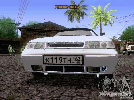 LADA 21103 Maxi para visión interna GTA San Andreas