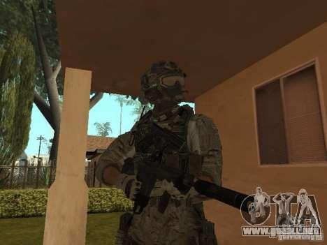 M4A1 con ACOG de CoD MW3 para GTA San Andreas