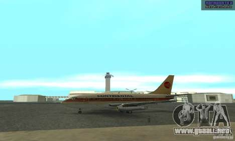 Boeing 737-100 para GTA San Andreas