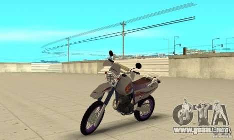YAMAHA TT250R Raid para GTA San Andreas