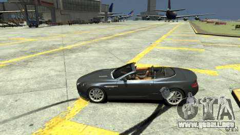 Aston Martin Volante DB9 para GTA 4 left
