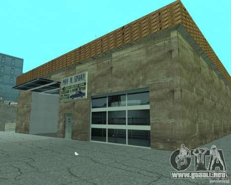 Nuevo letrero. nueva gasolinera. para GTA San Andreas sexta pantalla