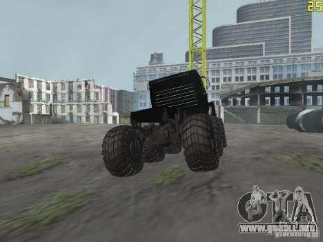 ZIL 497200 para GTA San Andreas vista posterior izquierda