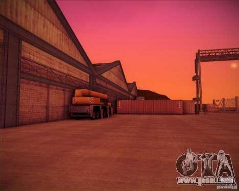Portland para GTA San Andreas quinta pantalla