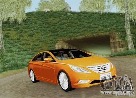 Hyundai Sonata 2012 para el motor de GTA San Andreas