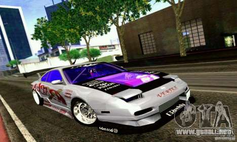 Nissan 150SX Drift para GTA San Andreas left